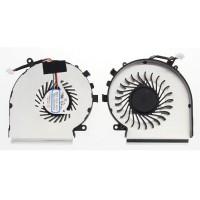 Ventilátor pre MSI GE62 GE72 GL62 GL72 PE60 PE70 CPU 4pin