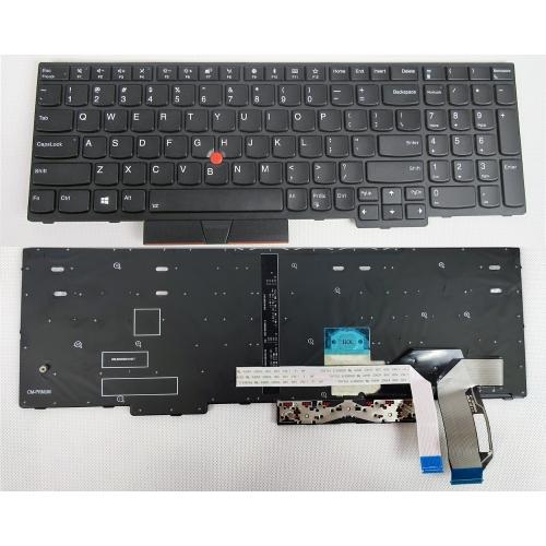 Klávesnica pre IBM LENOVO Thinkpad E580 E585 L580 P52S podsvietená